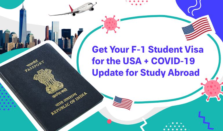 how to get student visa for USA